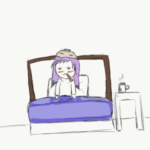Al letto malata